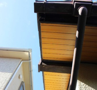 合板・ベニヤ板(化粧合板)の軒天