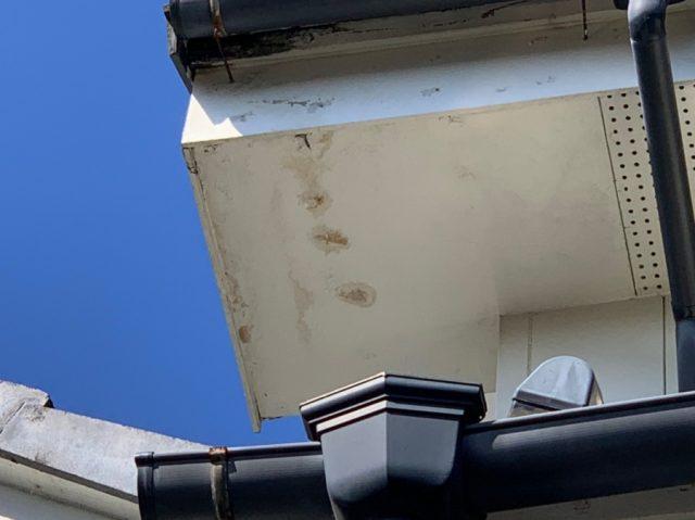 【宮崎県宮崎市】月見ヶ丘の住宅の148平方メートルある屋根を塗装していきます付帯部・軒天状況_1_確定