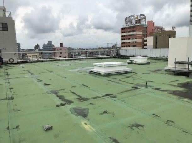 宮崎市シート防水