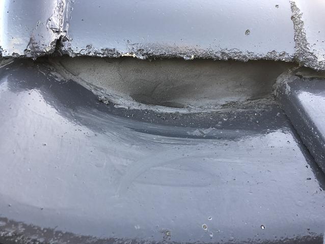 漆喰補修 面戸