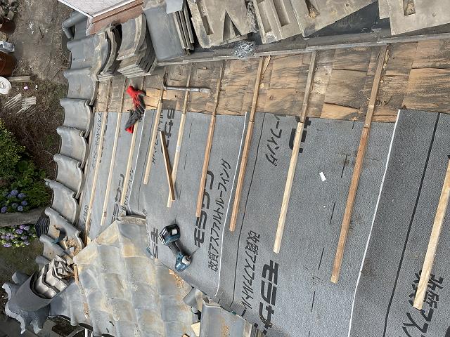 棟取り直し セメント