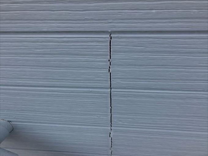 外壁サイディング シール部分