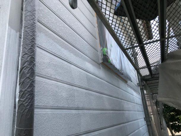 宮崎市外壁中塗り
