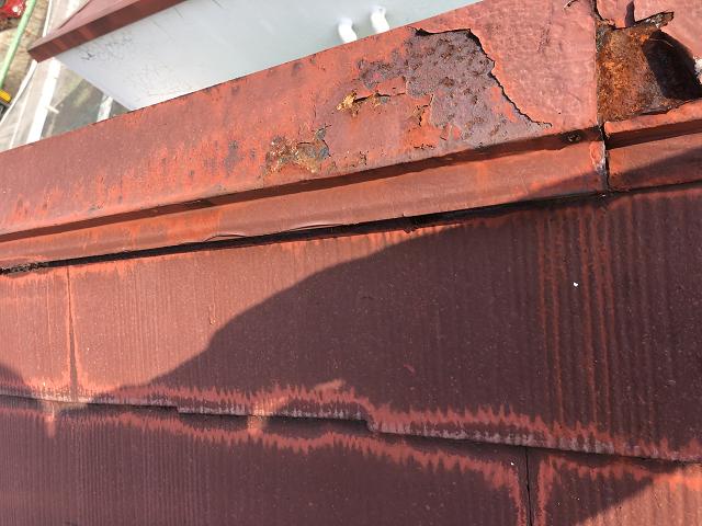 棟包板金 交換 塗装