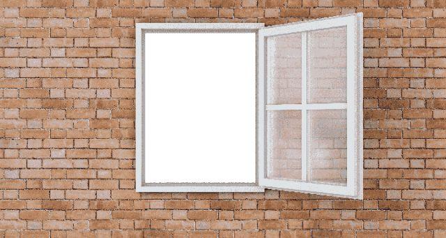 レンガ 窓