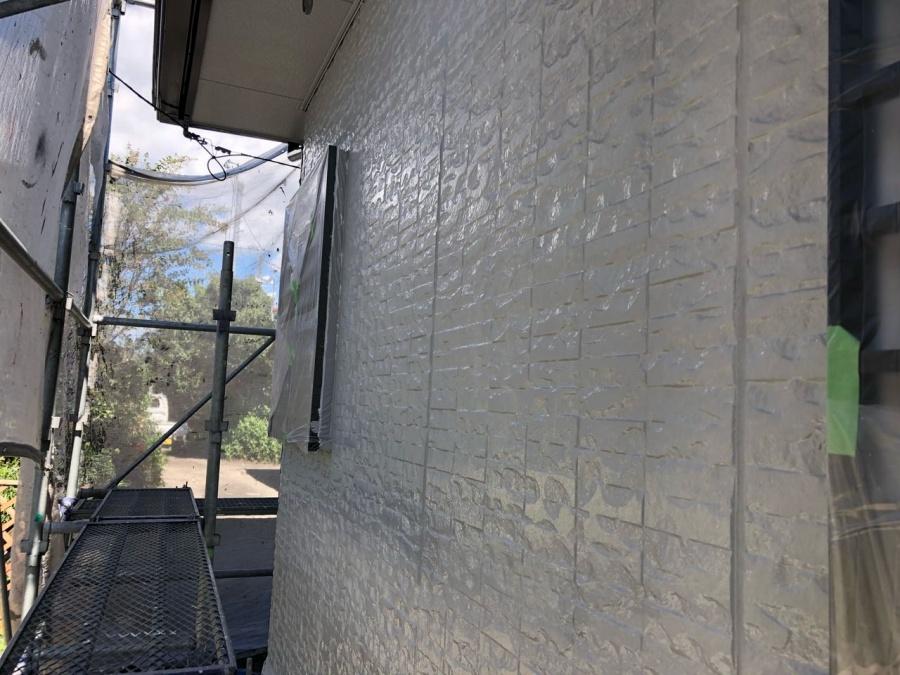 外壁上塗り 塗装