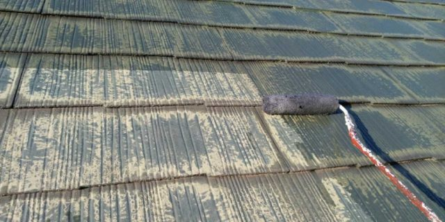 【宮崎県宮崎市】宮脇町にある住宅の106平方メートルある屋根を塗装していきます屋根下塗り_1_確定