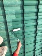 【宮崎県宮崎市】小松台西にある39坪の住宅でセメント瓦の屋根と雨戸・雨樋・軒天を塗装します!屋根下塗り_1_確定
