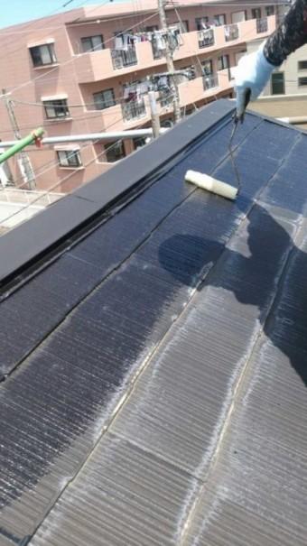 屋根下塗り 塗装
