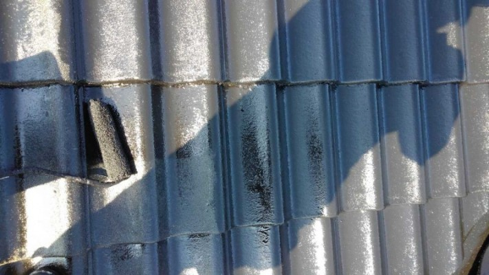 セメント瓦 塗替え