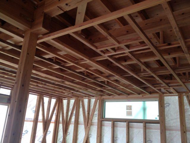 木造住宅の骨組み