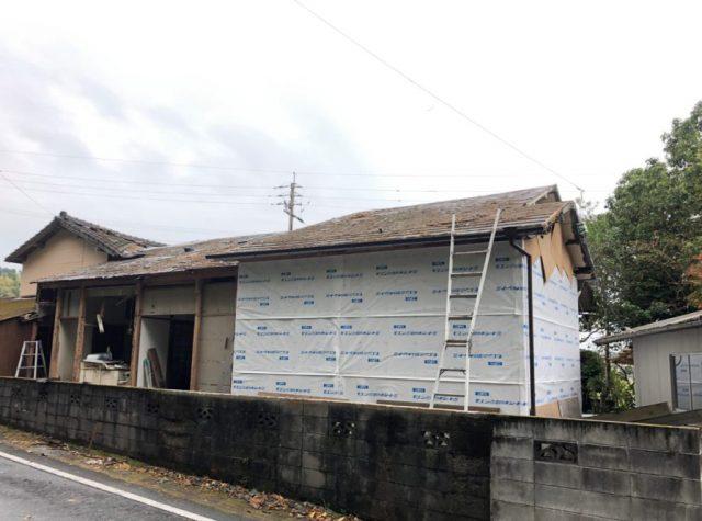 【鹿児島】ガルバリウム鋼板への葺き替え屋根リフォーム工事