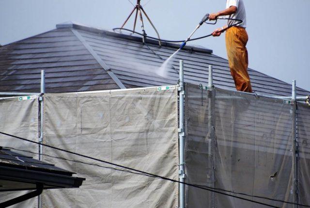 工事中の屋根養生とは