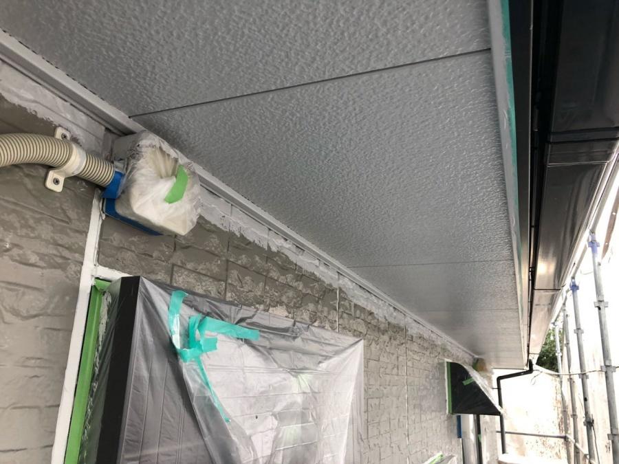 軒天塗装 塗替え