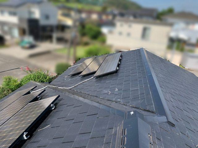 鹿児島市のコロニアル屋根補修工事