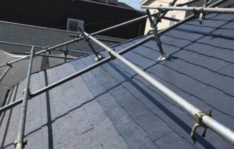 【宮崎県宮崎市】大坪東にある45坪の住宅で120平方メートルのコロニアル屋根と雨戸・雨樋・軒天を塗装します!屋根上塗り_1_確定