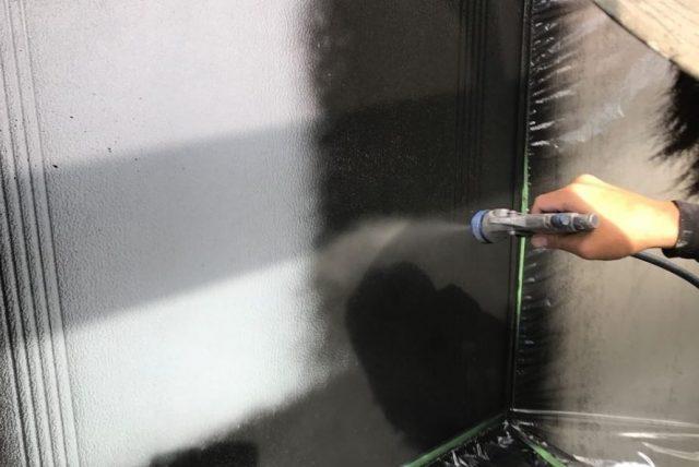 【宮崎地域】瓦屋根の住宅で屋根や付帯部の塗装を行います雨戸